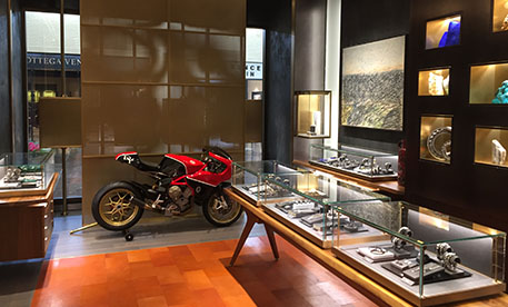 David Yurman motorcycle