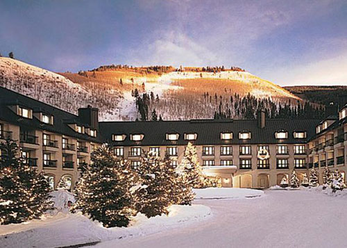 Grand Hyatt Vail Christmas at Sunset