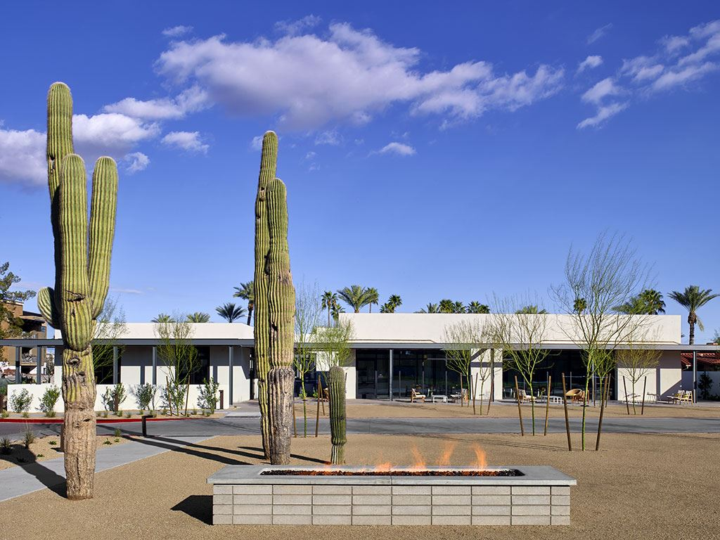 Exterior of Andaz Scottsdale Hotel Rooms