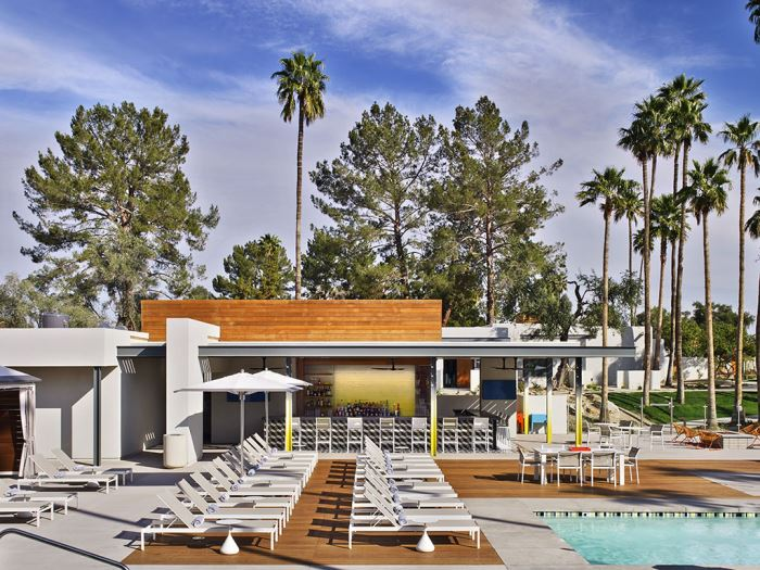 Andaz Scottsdale pool during the day
