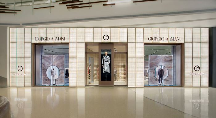 Giorgio Armani at The Shops at Crystals